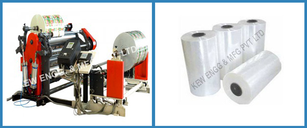 Extra Clear Film Slitter Rewinder Machine