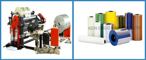 Flexible Film Slitter Rewinder Machine