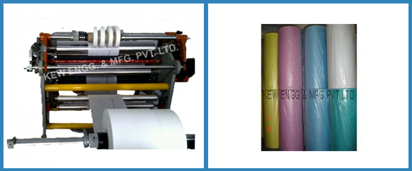 Soft PVC Film Slitter Rewinder Machine