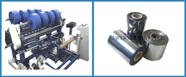 Heat Sealable Polyester Film Slitter Rewinder Machine