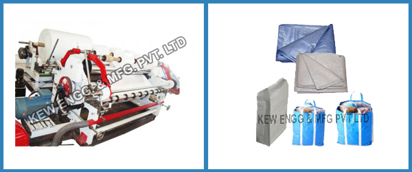 Woven Sack Slitting Rewinding Machine