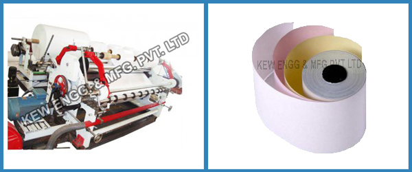 Carbonless Paper Slitter Rewinder Machine