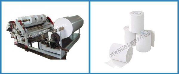Thermal Sensitive Paper Slitter Rewinder Machine