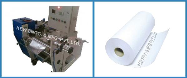 Fax Roll Paper Slitter Rewinder Machine
