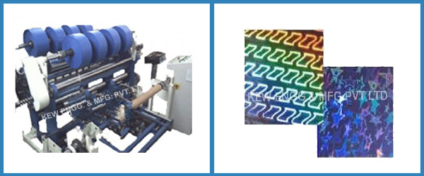 Direct Embossable Film Slitter Rewinder Machine