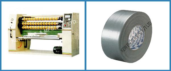 Duct Tape Slitter Rewinder Machine