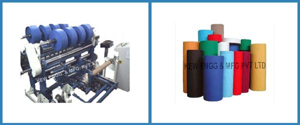 Polypropylene Liner Fabric Slitter Rewinder Machine