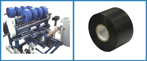 Stationery Electrical Insulation Slitter Rewinder Machine