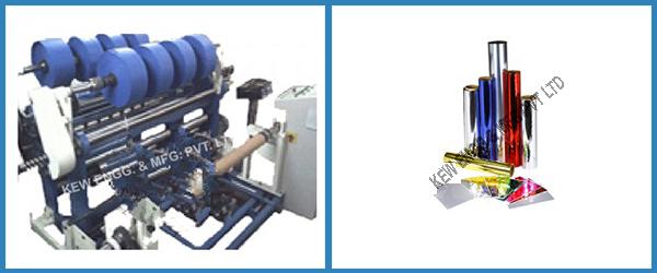 Metallized Film Slitter Rewinder Machine