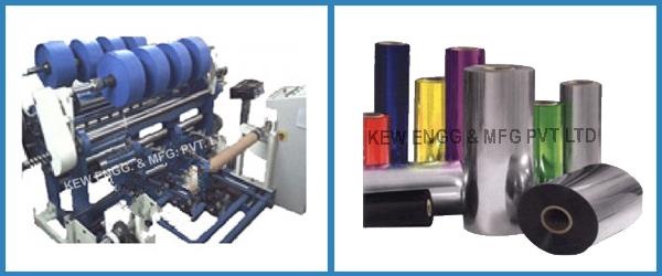 Thermoforming Sheeting Slitter Rewinder Machine