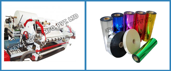 Metalized Film and Metalized Paper Slitter Rewinder Machine