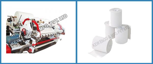 Bond Paper Slitting Rewinding Machine