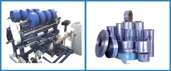 PVC Film and PVC Shrink Film Slitting Rewinding Machine