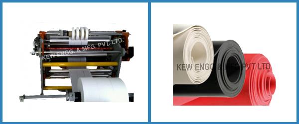 Liner Fabric Rewinding Machine