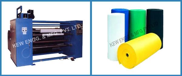 Simplex Slitter Rewinder Machine